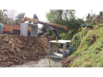 Alanya Belediyesi'nden Yol Açma Çalışmaları