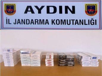Jandarmadan Markete Kaçak Sigara Operasyonu
