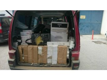 Erzincan'da 20 Bin 200 Paket Kaçak Sigara Ele Geçirildi