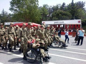 Engelli Gençler Hasdal'da Vatani Görevini Yaptı