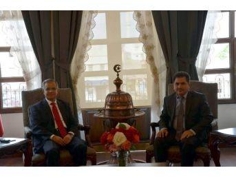 Bölge Cumhuriyet Başsavcısı Mustafa Yalçın'dan Valiliğe Ziyaret