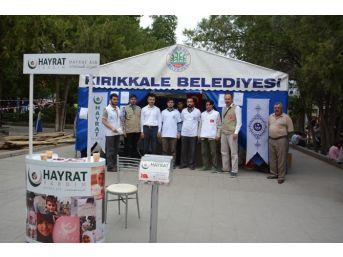 Kırıkkale Kardeşlik Vakfından Bayırbucak Türkmenlerine Yardım
