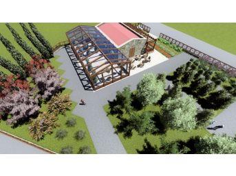 Belediye Çiçek Satış Merkezi Projesi Çalışmaları Devam Ediyor