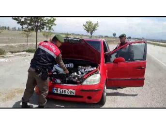 Konya'da Kaçak Sigara Operasyonu