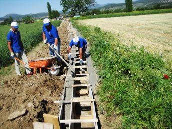 Büyükşehir, Sulama Kanalı Ve Tesisleri Yaza Hazırlıyor