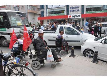 Engelliler Haftasında Da Engele Takıldılar