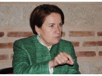"""Mhp Genel Başkan Adayı Akşener: """"yartıgay'ın Kararını Bekleyeceğiz"""""""