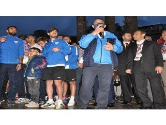 Şampiyonluk Kupası Bandırma'ya Geldi