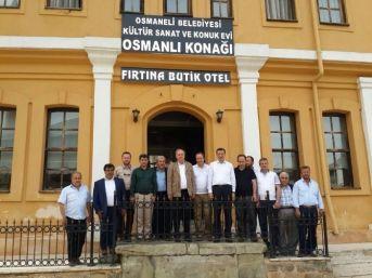 Bilim, Sanayi Ve Teknoloji Bakan Yardımcısı Osmaneli'de