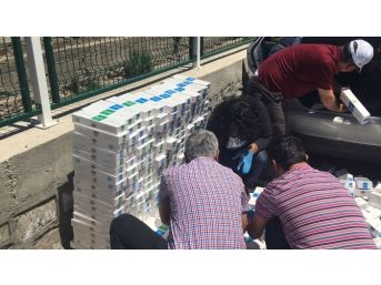 Bünyan'da Kaçak Sigara Operasyonu