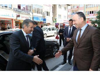 Vali Vekili Ünlüler'den Başkan Saygılı'ya Ziyaret