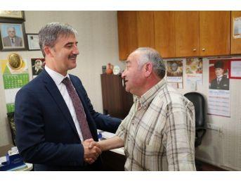Başkan Şirin'den Aşevi Destekçisi Esnafa Ziyaret