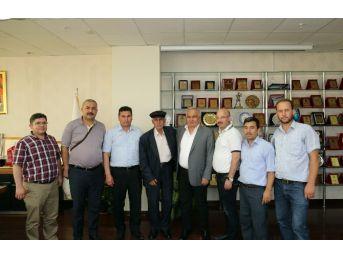 Bağımsız Diyanet Sendikası'ndan Başkan Tollu'ya Teşekkür Ziyareti