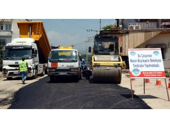 Büyükşehir Belediyesi'nin Asfalt Atağı Sürüyor