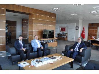 Bandırma Onyedi Eylül Üniversitesi'nden Rektör Şimşek'e Ziyaret
