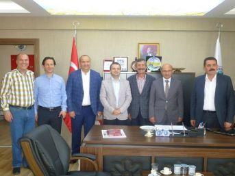 Başkan Metin Oral'dan Taşköprü Belediyesi'ne Ziyaret