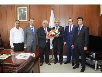 Sorgun Güvenlik Kurumu Merkezinden Sorgun Belediye Başkanı Şimşek'e Ziyaret