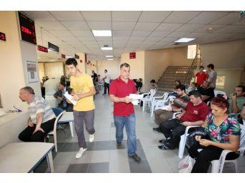 Seyhan'da Vezneler Hafta Sonu Açık