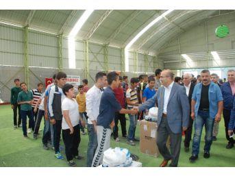 Adıyaman'da Mahalleler Arası Futbol Turnuvası Başladı