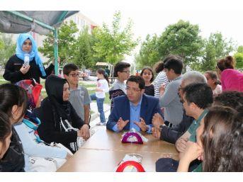 Başkan Yazgı Kermes Ziyaret Etti