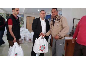 Amasya'da 3 Bin Aileye Ramazan Paketi Dağıtılacak