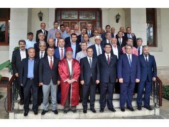 Aesob Başkanı Adlıhan Dere'den, Vali Türker'e Ziyaret