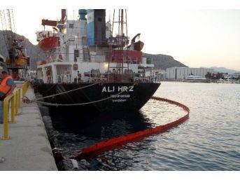 Akdeniz'i Kirleten Gemilere 413 Bin Tl Ceza