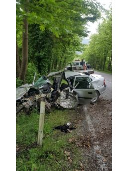 Bartın'da Trafik Kazası: 2 Ölü, 1 Yaralı