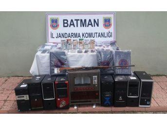 Batman'da Bahis Operasyonu: 14 Gözaltı