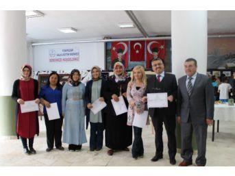 Yenipazar Halk Eğitim Merkezi Kursiyerlerine Başarı Belgeleri Verildi