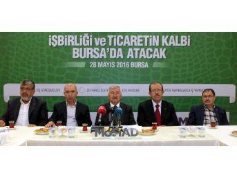 Binlerce İş Adamı Bursa'da Bir Araya Geliyor