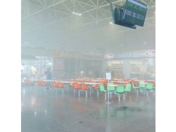 Bursa Terminalinde Yangın Paniği
