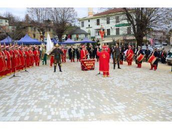 Düzce Mehter Takımı Osmanlı Çileği Kültür Ve Sanat Şenliği'nde
