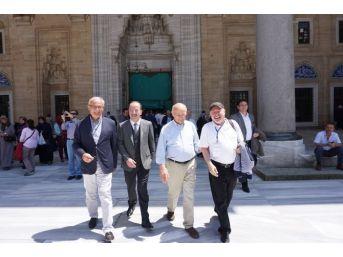 Samsun Büyükşehir Belediye Ve Tkb Başkanı Yılmaz Edirne'de Tarihi Mekanları Gezdi