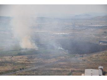 Aliağa Organize Sanayi Bölgesi'nde Yangın