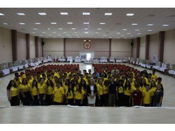 Nevvar Salih İşgören Eğitim Kampüsü Öğrencilerinden Bilim Fuarı