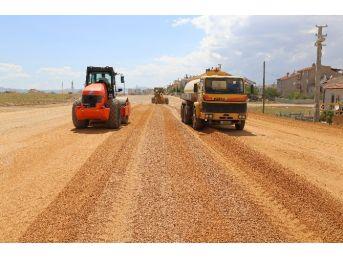Karaman Belediyesinin Yol Yapım Çalışmaları