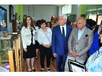 Karaman'da El Sanatlar Karma Sergisi Açıldı