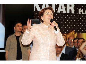 Meral Akşener Kastamonu'da Konuştu
