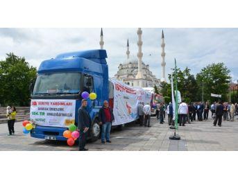 Kırıkkale'den Bayır Bucak Türkmenlerine Yardım