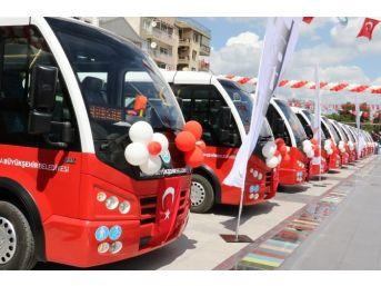 Turgutlu'da Modern Toplu Ulaşım Araçlarına Tam Not