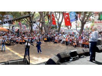 Başkan Kocamaz, Erdemli Türkmen Şöleni'ne Katıldı
