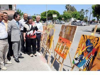 Mersin'de Sanat Sokağa Taştı