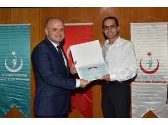 Mersin'de Yılın Hekimleri Ödüllerini Aldı