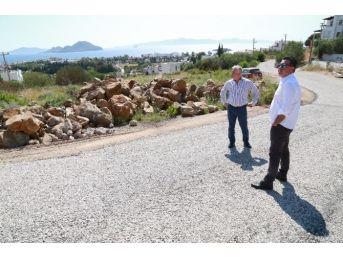 Başkan Kocadon, Yol Bakım Ve Onarım Çalışmalarını İnceledi