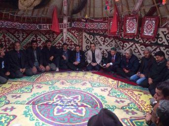 Kazak Türklerinin Büyüğü Zuvka Batur Altay Köyü'nde Anıldı