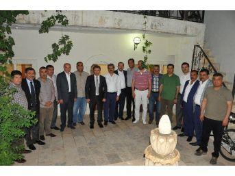 Şanlıurfa Emniyet Müdürü Eyüp Pınarbaşı, Memleket Meclisi'nin Konuğu Oldu
