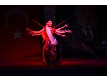 Süleymanpaşa Belediye Konservatuarı Dans Bölümü'nden Yılsonu Performansı