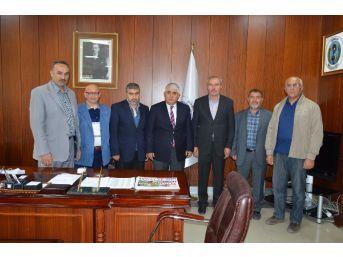 Sorgun Diyanet-sen'den Belediye Başkanı Şimşek'e Ziyaret
