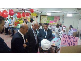 Yerköy Reşat Akyön Ortaokulu Öğrencilerinden Tübitak Bilim Fuarı